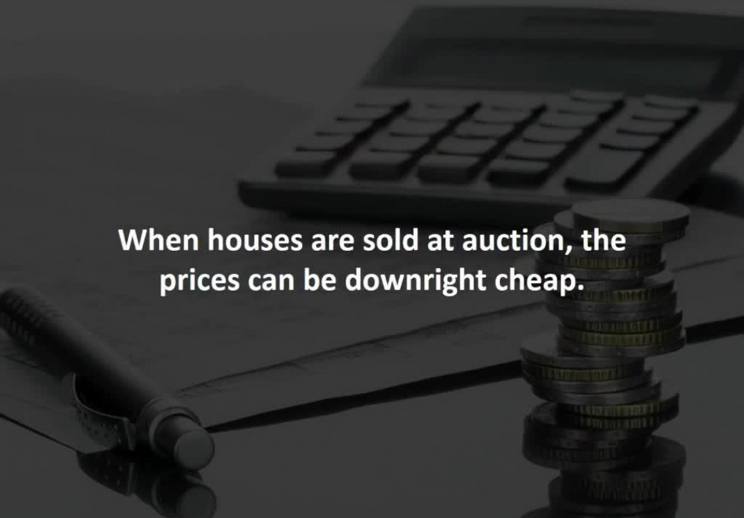 Houston Loan Officer reveals How to save BIG by buying a home at an auction
