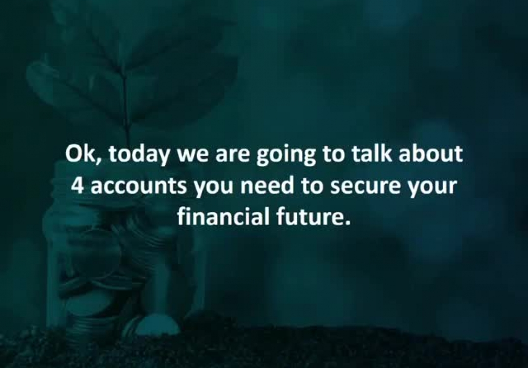 Edmonton mortgage advisor reveals 4 accounts you need to secure your financial future.