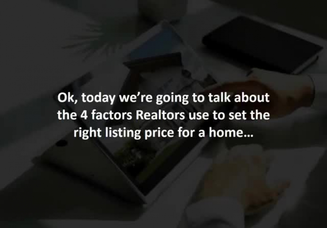 Mortgage consultant reveals 4 factors smart Realtors consider before setting a listing price…