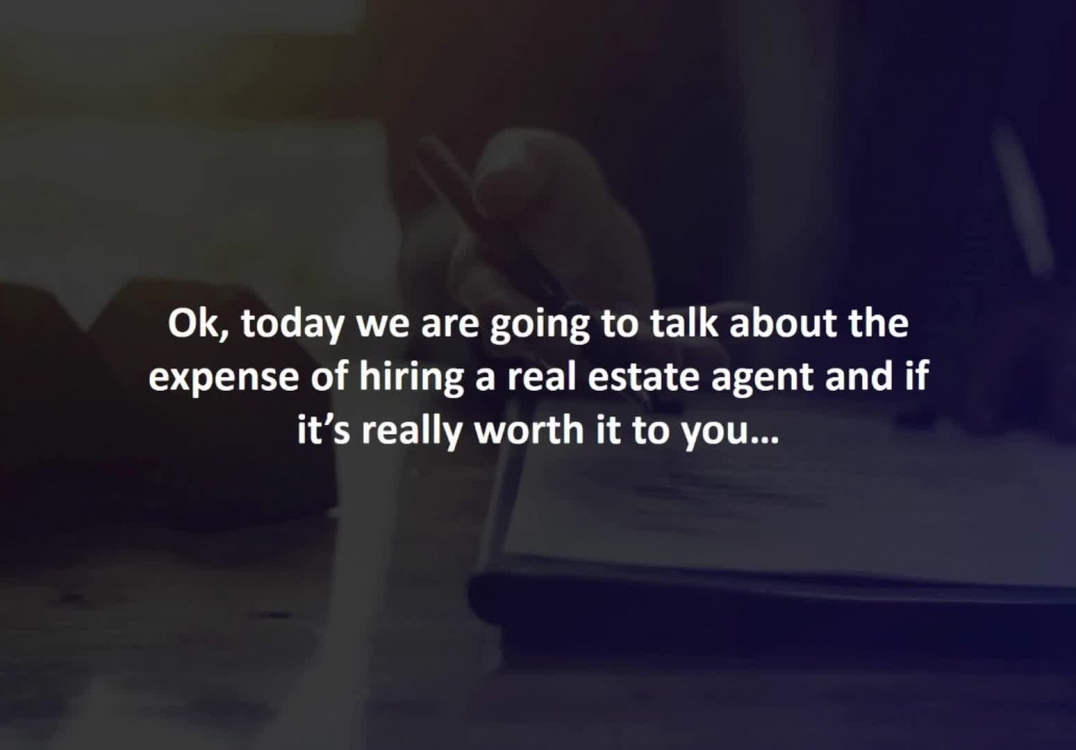 Ontario Mortgage Agent reveals Is hiring a real estate agent really worth it?