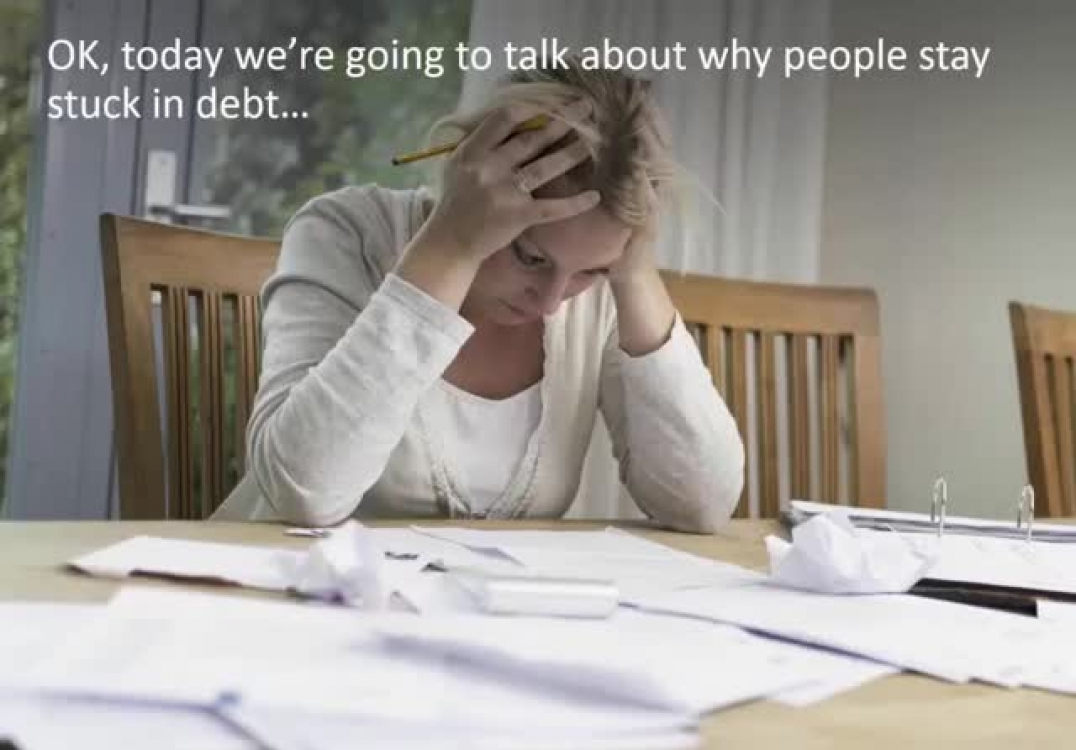 Barrie mortgage agent reveals Top 5 reasons why people stay stuck in debt….