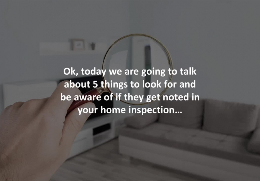 Providence Loan Officer reveals 5 home inspection red flags