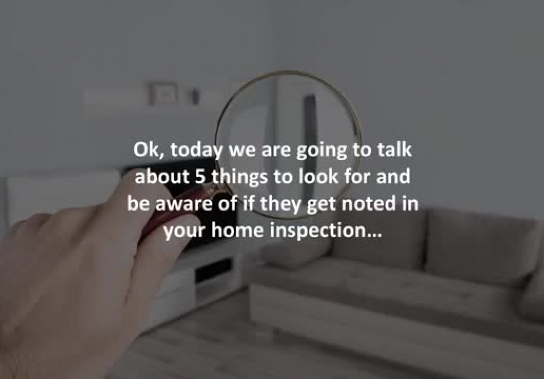Coastal mortgage solutions reveals 5 home inspection red flags