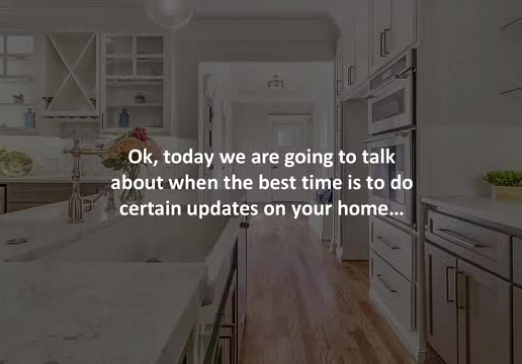 Whitby mortgage agent reveals When is the right time to update your home?